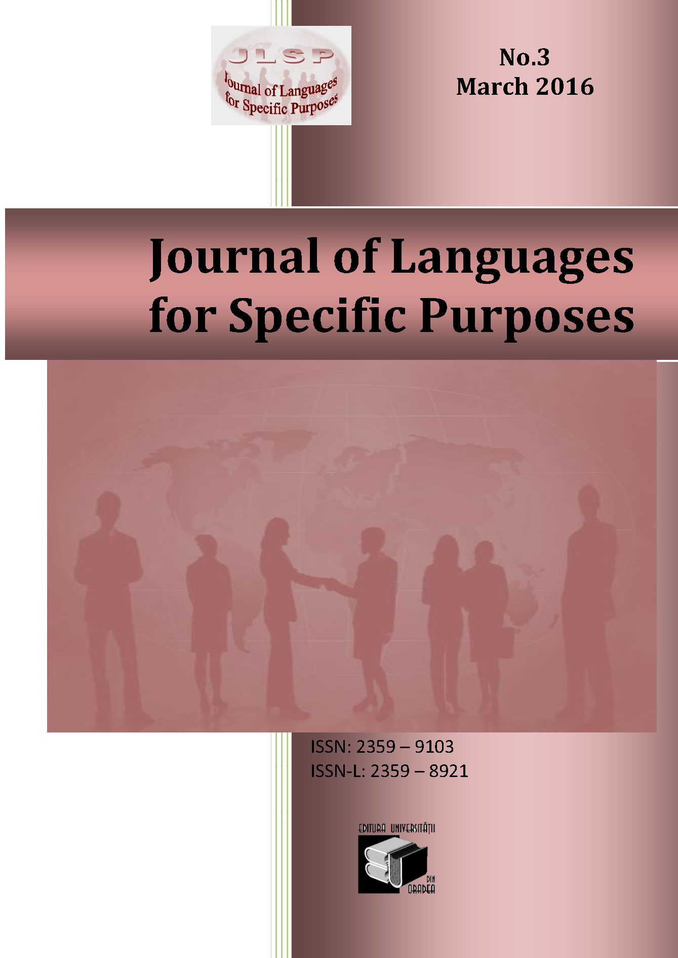 JLSP 3nd Issue is online